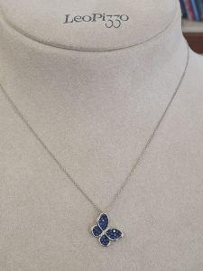 LEO PIZZO Girocollo con zaffiri e Diamanti 334495