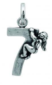 Charm GIOVANNI RASPINI '7' con angelo