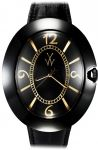 ToyWatch MONNALISA Black & Pink Gold BB03BKB