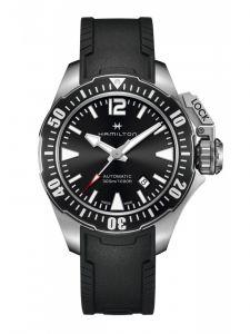HAMILTON Khaki Navy Frogman Acciaio H77605335