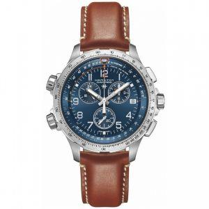 HAMILTON Khaki X-Wind GMT Chrono Quartz H77922541