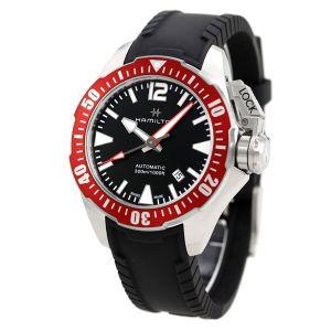HAMILTON Khaki Navy Frogman Acciaio H77725335