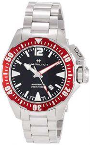 HAMILTON Khaki Navy Frogman Acciaio H77725135