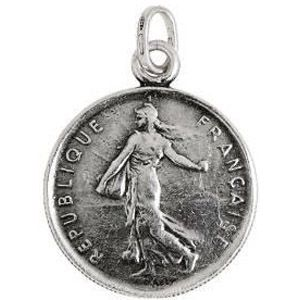 Charm GIOVANNI RASPINI Moneta 5 franchi