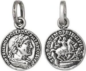 Charm GIOVANNI RASPINI Moneta Imperatore piccola