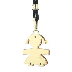 Ciondolo Le Bebè femminuccia oro giallo I CUCCIOLI LBB007