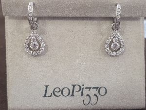 LEO PIZZO Orecchini pendenti con Diamanti 550392