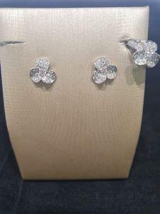 LEO PIZZO Mono Piercing fiore con Diamanti 096921