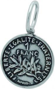 Charm GIOVANNI RASPINI Moneta 1 Franco